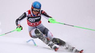 Vlhova trionfa nello slalom di Zagabria. Azzurre giù:Curtoni 16.ma