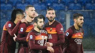 La Roma non resta impantanata: Dzeko piega la Samp e difende il 3° posto
