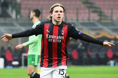 Jens Petter Hauge, 21 anni, norvegese del Milan