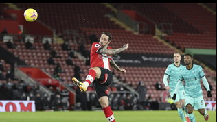 Premier League:il Southampton stende il Liverpool