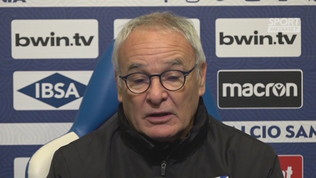 "Ranieri 'saluta' Quagliarella: ""Juve grande premio per lui"""