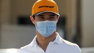 Norris positivo al Covid: farà la quarantena a Dubai