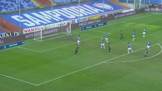 Sampdoria-Inter 2-1, gli highlights