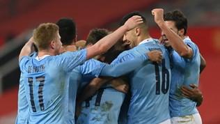 Il City fa suo il derby con lo Unitede vainfinale di Carabao Cup col Tottenham