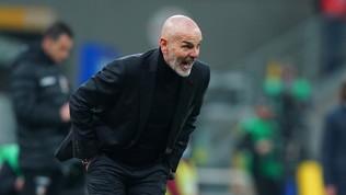 """Pioli: """"Gara equilibrata, indirizzata dal 2-1. Ibra torna col Cagliari"""""""