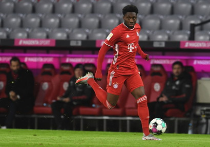 8. Alphonso Davies (Bayern Monaco) 139.2