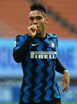 2. Lautaro Martinez (Inter) 105.5