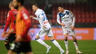Atalanta,Ilicic-show con gol e magie: Benevento ko e quarto posto