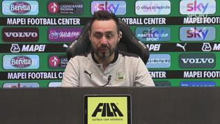 """De Zerbi: """"Con la Juve ci vuole il vero Sassuolo"""""""