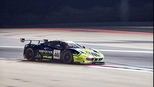 12 Ore del Golfo: Rossi sale sul podio in Bahrain