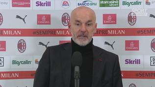 """Pioli: """"Buona reazione dopo il ko con la Juve"""""""