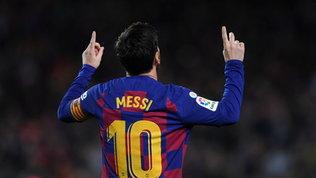 Messi: secondo miglior inizio anno al Barça nonostante l'addio imminente
