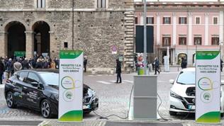 Ecco l'Umbria elettrica con la collaborazione diNissan
