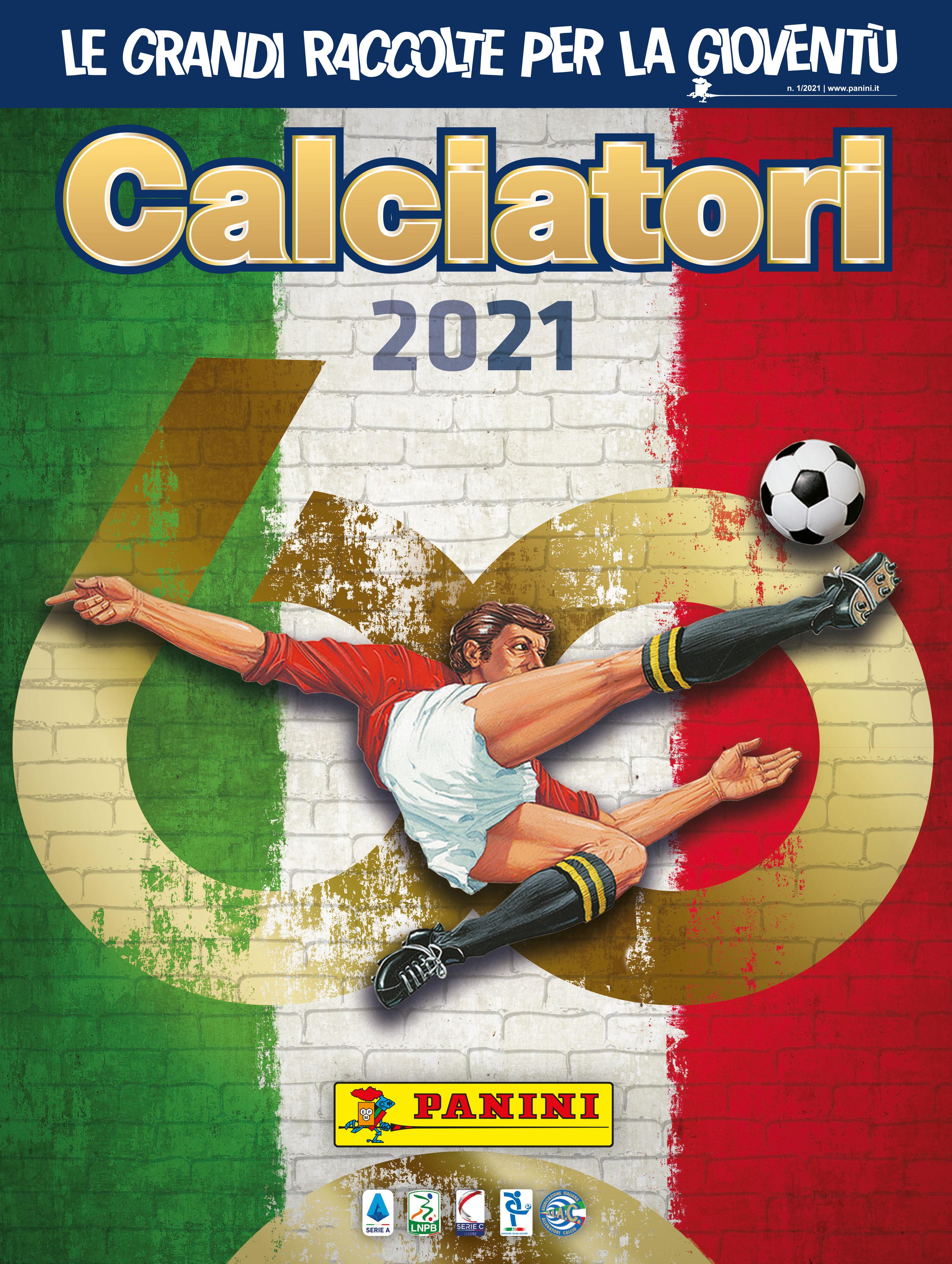 L&#39;album Calciatori Panini celebra i suoi 60 anni con il lancio della nuova edizione dedicata alla stagione 2020/21. &Egrave; stata infatti svelata oggi &quot;Calciatori 2021&quot;, la collezione ufficiale di figurine Panini sul calcio italiano giunta appunto alla 60.a edizione. Un album di 132 pagine con 748 figurine in cui sono tante le novita&#39;, dalla &quot;Top Team Panini 60&quot; e &quot;La Panini piu&#39; amata&quot;, che saranno scelte con la collaborazione di collezionisti e tifosi, oltre alle figurine delle copertine storiche degli album dal 1961 e degli MVP dei club di Serie A. La copertina dell&#39;album &quot;Calciatori 2021&quot; e&#39; caratterizzata dall&#39;immagine iconica del famoso calciatore in rovesciata. Alla Serie A sono dedicate quattro pagine con 22 calciatori, il mister e la maglia. Seguono poi le pagine dedicate a Serie BKT (20 squadre con 18 figurine di calciatori e lo scudetto), Serie C, Serie D e Serie A femminile. Numerose anche le figurine speciali, dal &quot;Film del campionato&quot;, alla sezione &quot;Calciomercato - L&#39;Originale&quot;, oltre ai momenti e protagonisti del campionato nella prima parte di stagione.&nbsp;<br /><br />