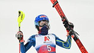 Mikaela Shiffrin vince lo slalom di Flachau. Vlhova 4a, male le azzurre