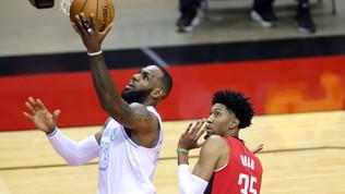 LeBron affonda ancora Houston, Durant ed Embiid trascinano Nets e Sixers