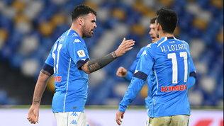 Il Napoli soffre ma vola ai quarti, Petagna fa fuori un bell'Empoli