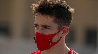 "Leclerc positivo al Covid: ""Sto bene, ho sintomi lievi"""