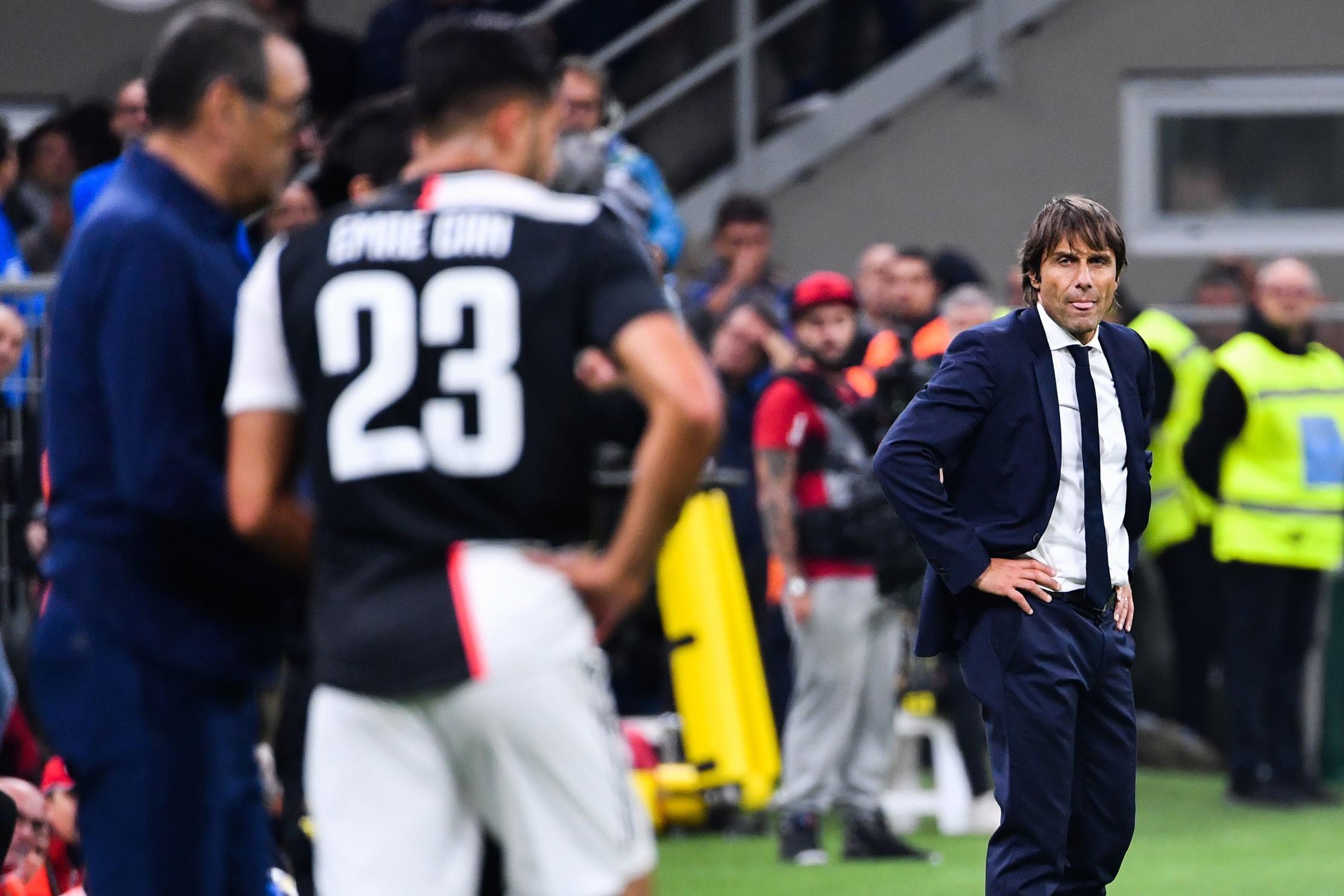 Inter vs Juventus 2019: la prima volta di Conte nerazzurro contro la sua ex squadra, Higuain decide la sfida di San Siro all'80'