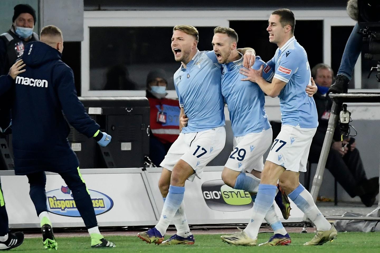 Lazio-Roma 3-0, le migliori immagini del derby della Capitale.<br /><br />