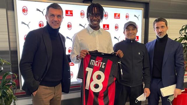 """Il Milan annuncia Meité: """"Qui per vincere lo scudetto"""". Vestirà la maglia 18"""