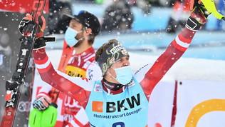 Feller vince lo slalom speciale di Flachau,Grossmiglior italiano