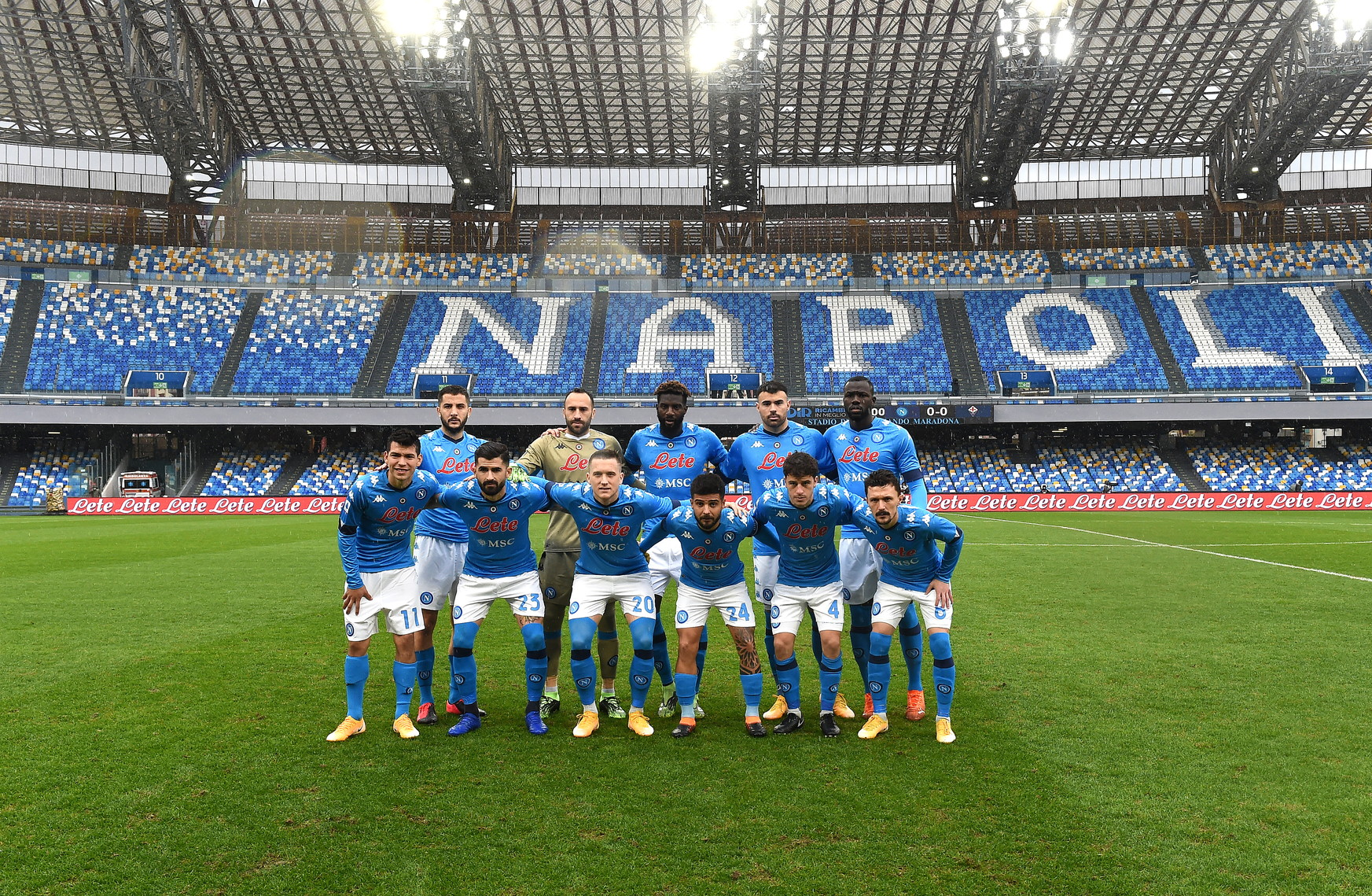 Allo stadio Maradona&nbsp;sfida di grande importanza per azzurri e viola.<br /><br />