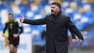 """Gattuso: """"Grande prestazione, speriamo di ripeterci mercoledì con la Juve"""""""