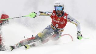 Foss-Solevaag trionfa nel secondo slalom di Flachau, Moelgg 16°