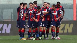 Crotone-Benevento: le foto del match