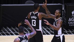 Tutto facile per i Clippers, Utah non si ferma più,Boston crolla