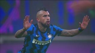 Inter, la notte di Vidal: gol e polemiche