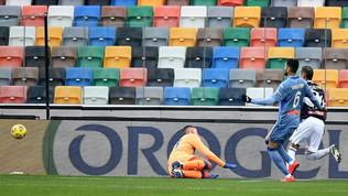 Finisce 1-1 il recupero della Dacia Arena: Muriel risponde a Pereyra