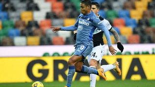 L'Atalanta fallisce l'aggancio al 3° posto, l'Udinese strappa il pareggio