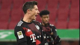 Bayern, basta un rigore diLewandowski: il Lipsia rimane a -4