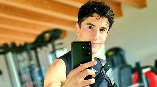 Marquez torna ad allenarsi, resta incerta la data del rientro