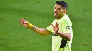 Suarez ribalta l'Eibar e manda l'Atletico infuga, Real a -7
