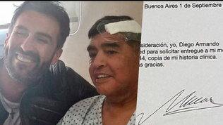 Maradona, svolta nelle indagini: il dottor Luqueha falsificato la sua firma
