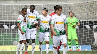 Bundesliga:poker 'Gladbach, il Dortmund affonda nel derby dei Borussia