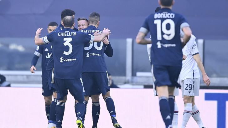 Pirlo si gioca la carta Morata per Bernardeschi: Juve-Bologna 1-0LIVE