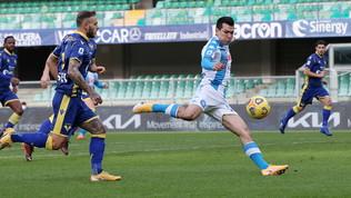 Un lampo di Lozano, in gol dopo 9''. Ma non è il più veloce della Serie A