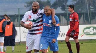 L'esordio di Maicon in Serie D: fascia di capitano, ma sconfitta finale