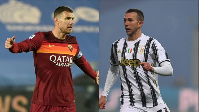 Juve e Roma ragionano: ipotesi di scambio Bernardeschi-Dzeko