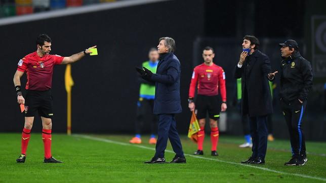 """Due giornate a Conte per """"frasi irrispettose e fare minaccioso"""" controMaresca"""