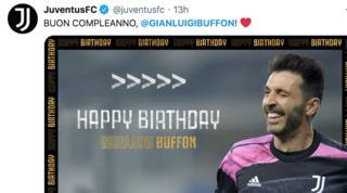 Buffon spegne 43 candeline: auguri social da tutto il mondo