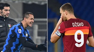 Inter-Roma, l'asse è caldo: si pensa allo scambio Sanchez-Dzeko