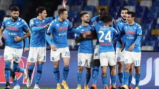 Napoli, poker allo Spezia e semifinale: Gattuso salvo, ora l'Atalanta