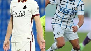 Saltato lo scambio:la Roma deve fare pace conDzeko, l'Inter ha il sì di Lautaro