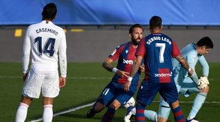 Tonfo Real in 10, il Levante sbanca Madrid | Vince il Siviglia