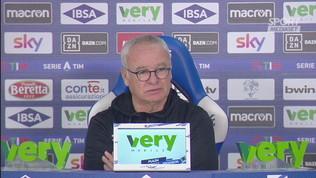 "Ranieri: ""Troppe palle perse in uscita"""